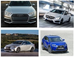 Top 10 ô tô sang được thị trường HCM yêu thích nhất năm 2016