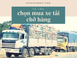 Tư vấn chọn mua xe tải chở hàng