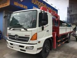 Hướng dẫn chọn mua xe tải Hino gắn cẩu