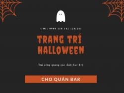 Gợi ý trang trí Halloween quán bar độc đáo HCM