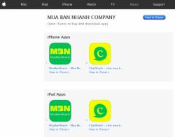 Ứng dụng mua bán online MuaBanNhanh