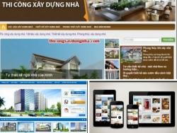 Những điều cần lưu ý khi thiết kế web xây dựng nhà đẹp